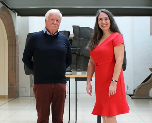 Hauptkommissar a.D. Manfred Paulus und Inge Bell – ©Stefan Baumgarth