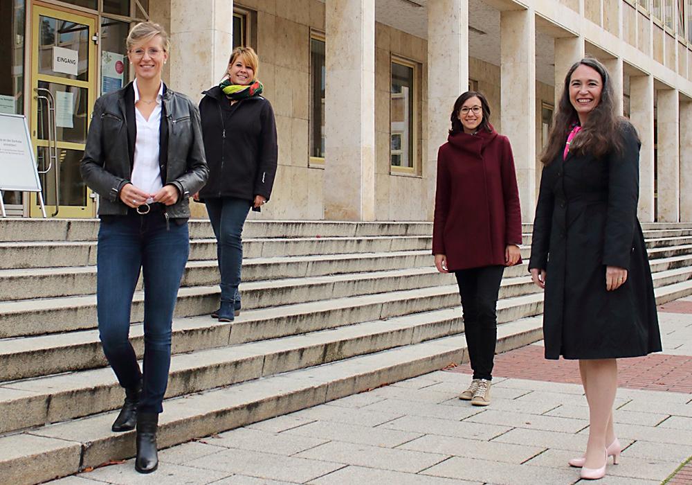 Katrin Albsteiger, Diana Bayer, Veronika Wierer, Inge Bell